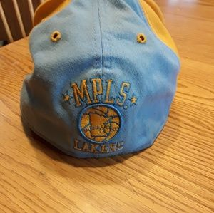 MPLS Lakers Backetball Team throwback cap 7 5/8